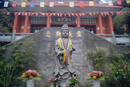 hunan: China temple, Hong Jiang in Hunan Editorial