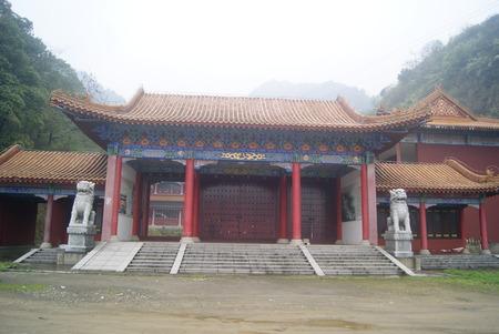 hunan: China temple, Hong Jiang in Hunan Stock Photo