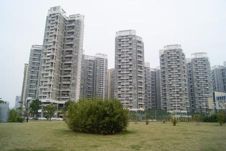 storied: Shenzhen residential landscape, China