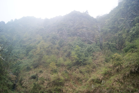 hunan: Mountain scenery, in Hunan, China