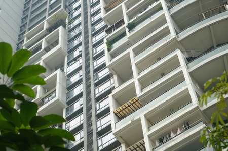 storied: City residential buildings, in Shenzhen, China