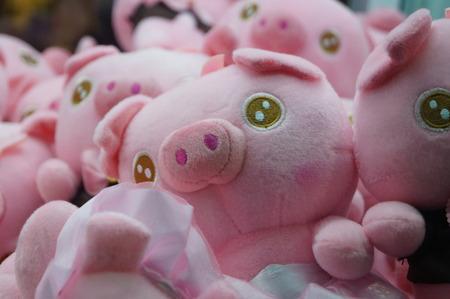 stuffed: close up of stuffed toys Stock Photo