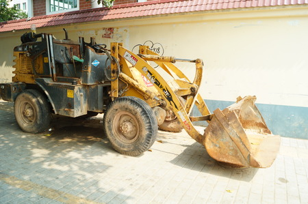 machinery: Excavating machinery