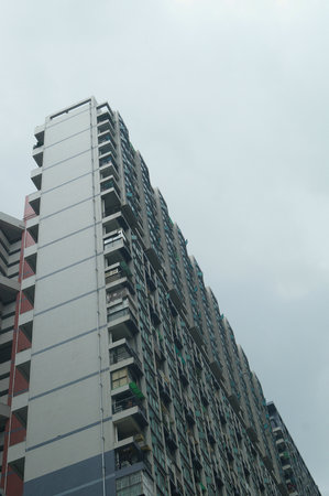 commercial real estate: City building, in Shenzhen Editorial