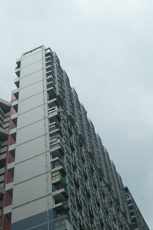 Edificio de la ciudad, en Shenzhen Foto de archivo - 45271336