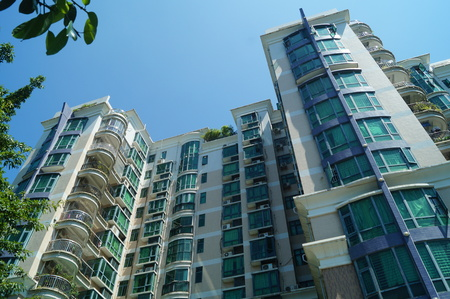 residential: Residential buildings in Shenzhen, China