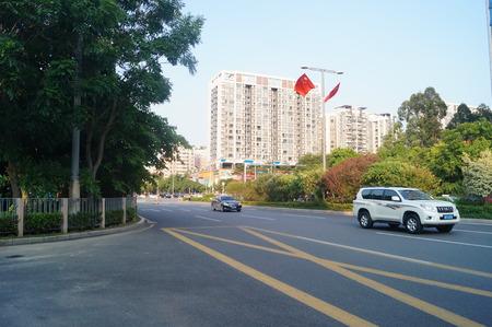 road traffic: Urban road traffic in Shenzhen Editorial