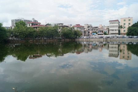 Pond landscape �ditoriale