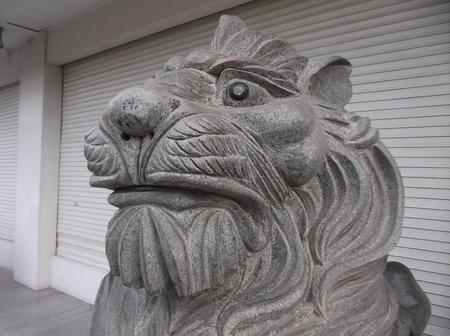 stone lion: stone lion
