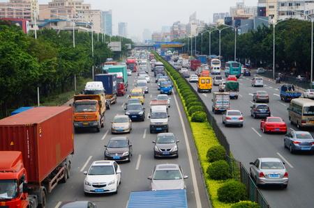 highway traffic: Shenzhen national road transportation