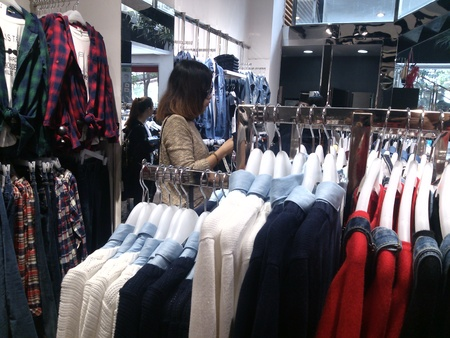 clothing store: clothing store