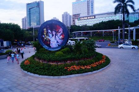folk culture: Landscape view of shenzhen folk culture village Editorial