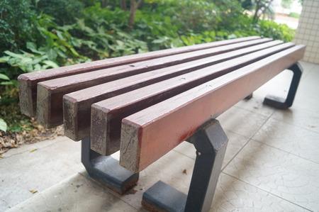 stool: Wooden stool