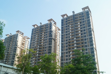 uninhabited: Shenzhen Baoan Ping Chau village more than 7 sets of low-income housing completed 8 years have been idle, uninhabited. In Guangdong, China