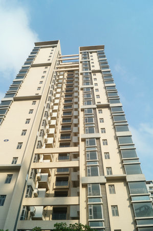 Shenzhen Baoan Ping Chau village more than 7 sets of low-income housing completed 8 years have been idle, uninhabited. In Guangdong, China