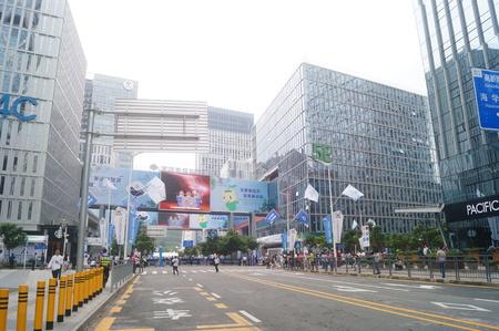 entrepreneurial: buildings in Shenzhen
