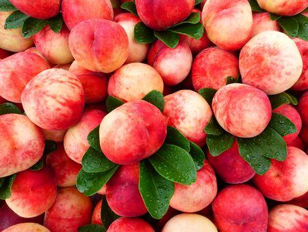 Fresh peach Фото со стока - 128941492