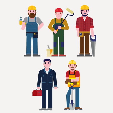 maintenance technician: Technician Illustration
