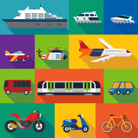 moyens de transport: Transport  Illustration