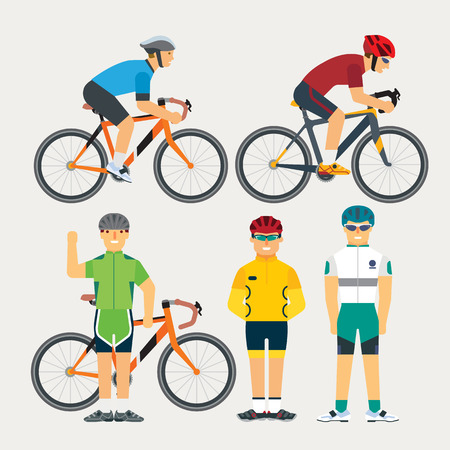 cycling helmet: cycling Illustration