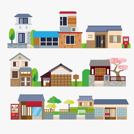 日本の家 写真素材 - 44308818