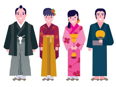 yukata: Japanese