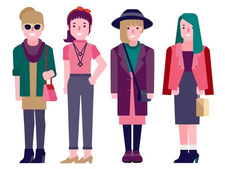 pretty young girl: fashion girls