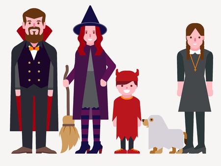halloween costume: Halloween costume Illustration