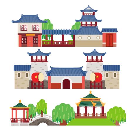 china town: China building