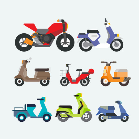 motorcycle and scooters