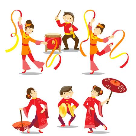 Chinees Nieuwjaar vieringen
