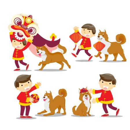 Chinees nieuwjaar  jaar van de hond