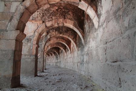 Ancient roman theater in Turkey Stock Photo - 16479526