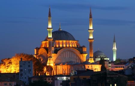 Majestic and vibrant city of Istanbul, Turkey Stock Photo