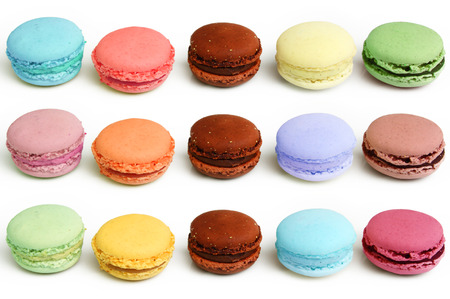 Colorful and tasty macaroon