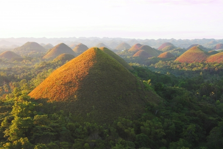 Chocolate Hills  Bohol, Philippines
