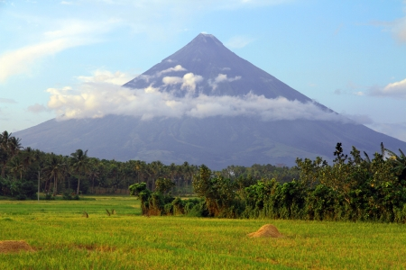 Mount Mayon Volcano, Philippines