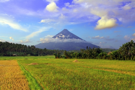 mayon: Mount Mayon Volcano, Philippines
