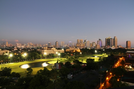 A view of Metro Manila, Philippines Stock fotó