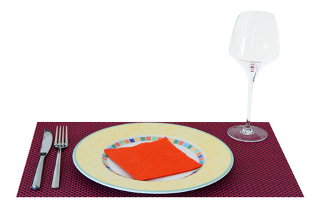 Table setting for meal