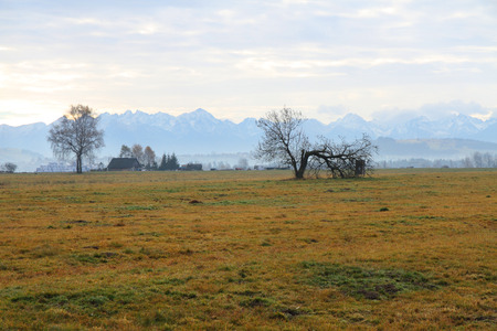 High Tatra mountains in the morning, Poland