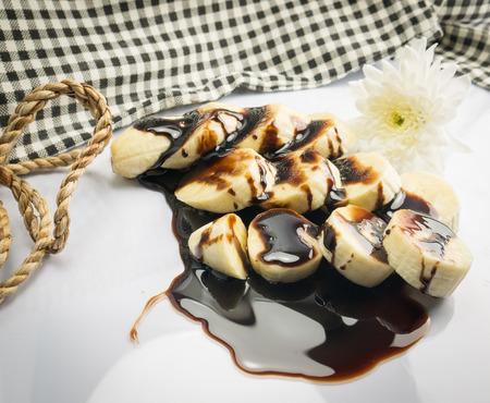 choco: thai dessert choco banana