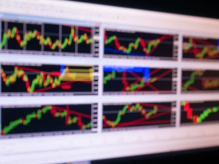 foe: graph stock blur foe background