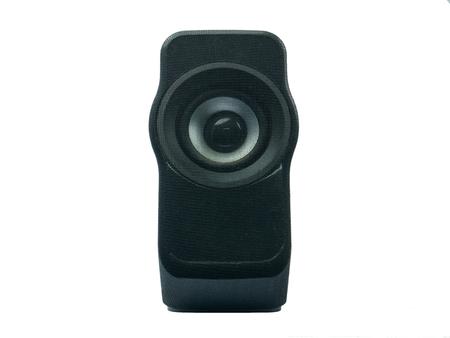 computer speaker: computer speaker on white background isolate