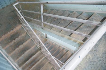 disturbed: old stairway to 2nd floor