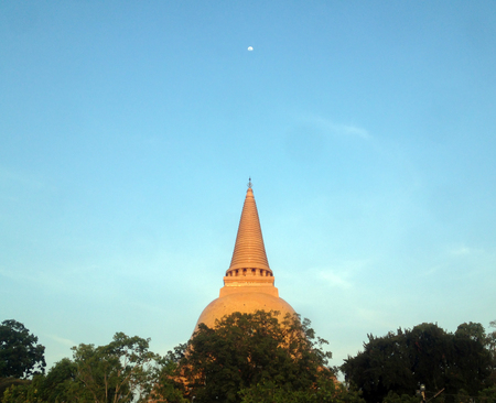 PHRA PRATHOM JEDI, The biggest Pagoda in Thailand,