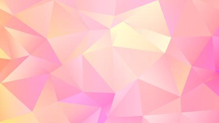 Trendy Triangular Design. Abstact Pink Quartz Bg Ilustração