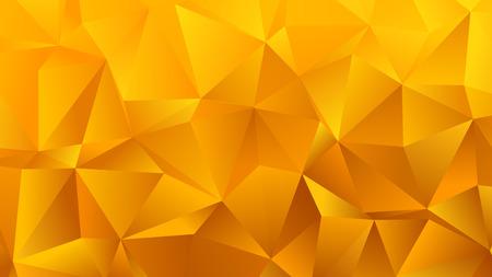 Golden Yellow Triangle Bg for Your Business Ilustración de vector
