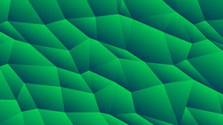 Pale Green Trendy Low Poly Backdrop Design