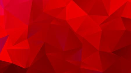 Dark Red Low Poly BG for Banner Stock Illustratie